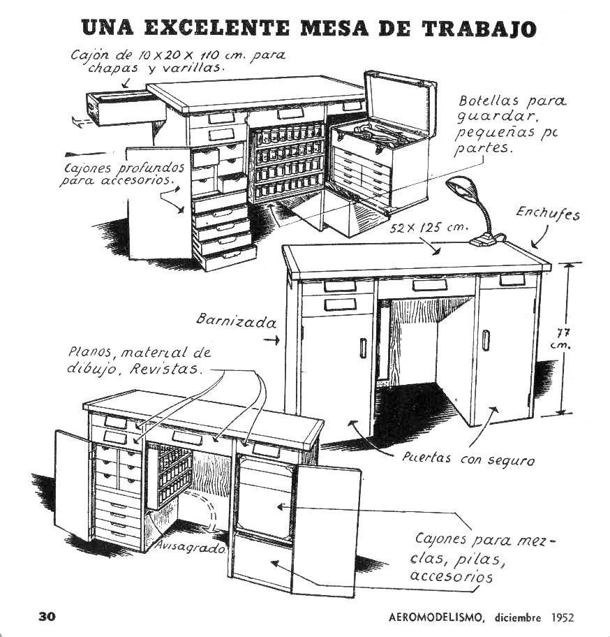 Dise o power models backup p gina 2 - Mesa trabajo taller ...